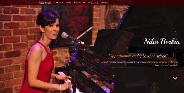 Website Showcase: Nilia Berkin » Webdesigner Saarbrücken · Fotografie · Copywriting · Storytelling » Brand Artery