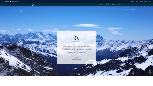 Website Showcase: Ritzy Agency Concept » Webdesigner Saarbrücken · Fotografie · Copywriting · Storytelling » Brand Artery