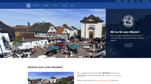 Website Showcase: BVAM » Webdesigner Saarbrücken · Fotografie · Copywriting · Storytelling » Brand Artery