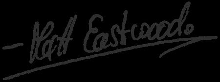 Signature: Matt Eastwood » Webdesigner Saarbrücken · Fotografie · Copywriting · Storytelling » Brand Artery