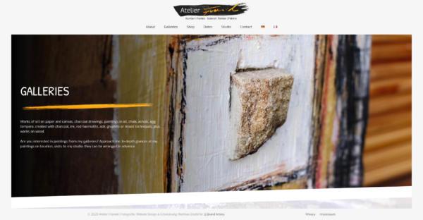 Website Showcase: Atelier Franiek » Webdesigner Saarbrücken · Fotografie · Copywriting · Storytelling » Brand Artery