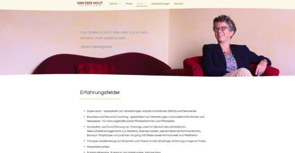 Website Showcase: Cornelia van den Hout » Webdesigner Saarbrücken · Fotografie · Copywriting · Storytelling » Brand Artery