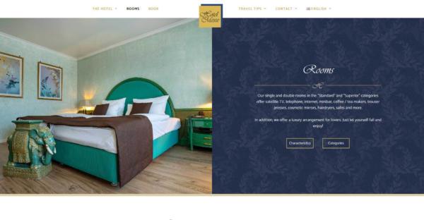 Website Showcase: Hotel an der Messe » Webdesigner Saarbrücken · Fotografie · Copywriting · Storytelling » Brand Artery