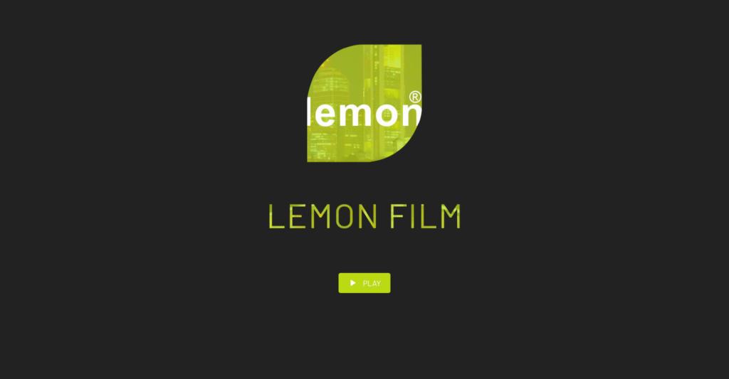 Website Showcase: Lemon Film » Webdesigner Saarbrücken · Fotografie · Copywriting · Storytelling » Brand Artery
