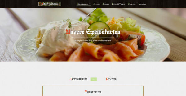 Website Showcase: Naturfreundehaus Billtal » Webdesigner Saarbrücken · Fotografie · Copywriting · Storytelling » Brand Artery