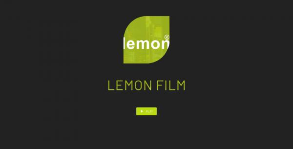 Website Demo: Lemon Film » Webdesigner Saarbrücken · Fotografie · Copywriting · Storytelling » Brand Artery