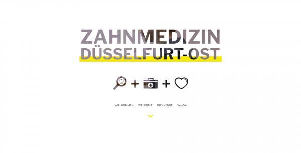 Website Demo: Zahnmedizin Düsselfurt-Ost » Webdesigner Saarbrücken · Fotografie · Copywriting · Storytelling » Brand Artery