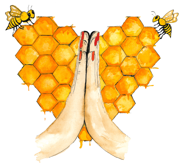 Website Demo: Honey Love Temple » Webdesigner Saarbrücken · Fotografie · Copywriting · Storytelling » Brand Artery