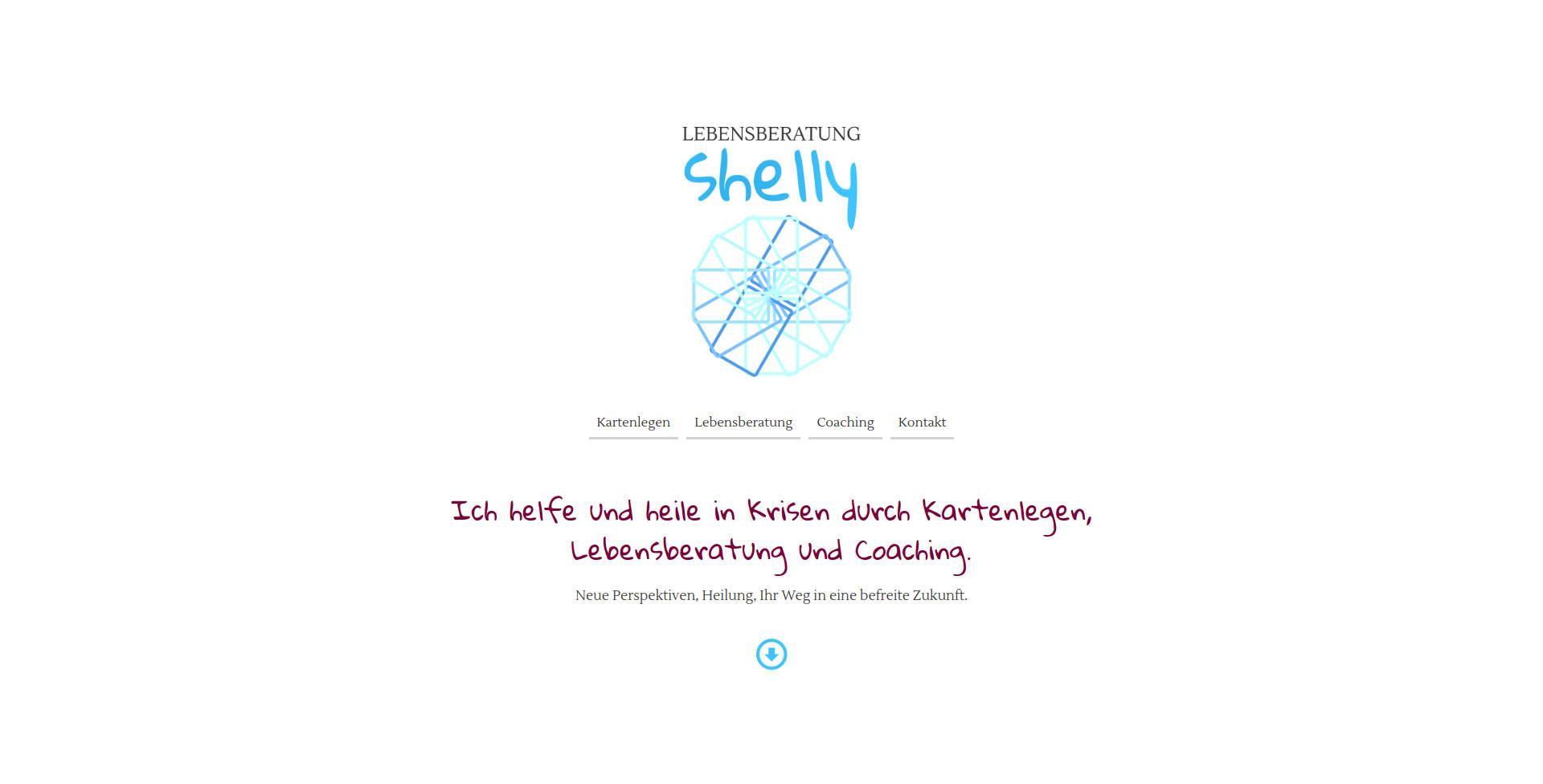 Website Demo: Shelly » Webdesigner Saarbrücken · Fotografie · Copywriting · Storytelling » Brand Artery