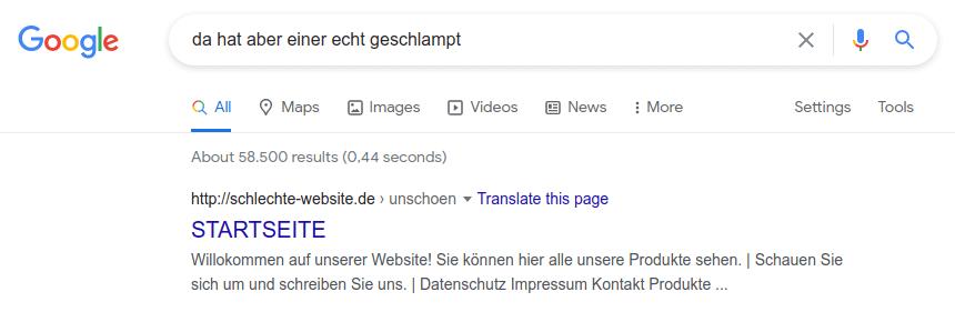 blogbeitrag erstellen schlechtes google snippet » Webdesigner Saarbrücken » WordPress-Websites + Empathie